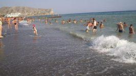Фото пляжей Судака
