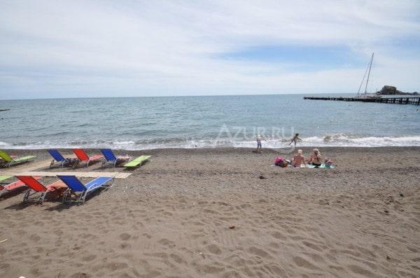 Пляж Арзы