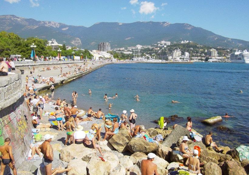 ялта фото города и пляжа хиксон соц сетях