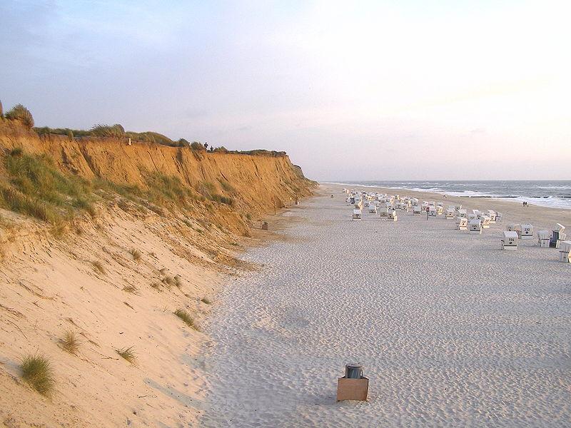 Фото пляжей острова Зюльт