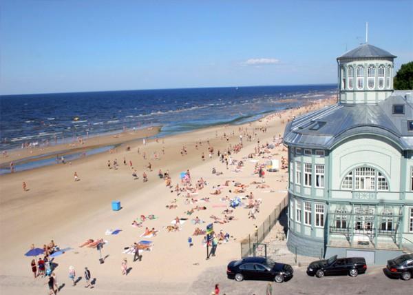 Пляжи Латвии