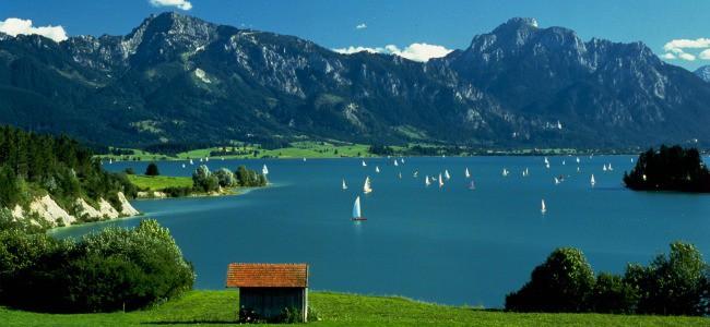 Озера для отдыха в Германии