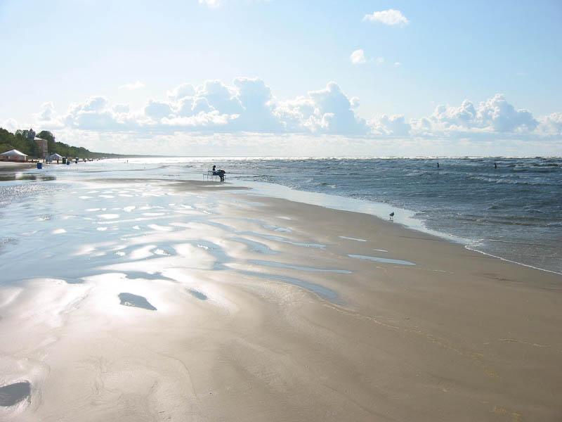 Пляжи в Латвии