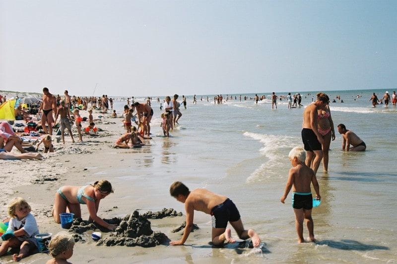 Пляжи Голландии
