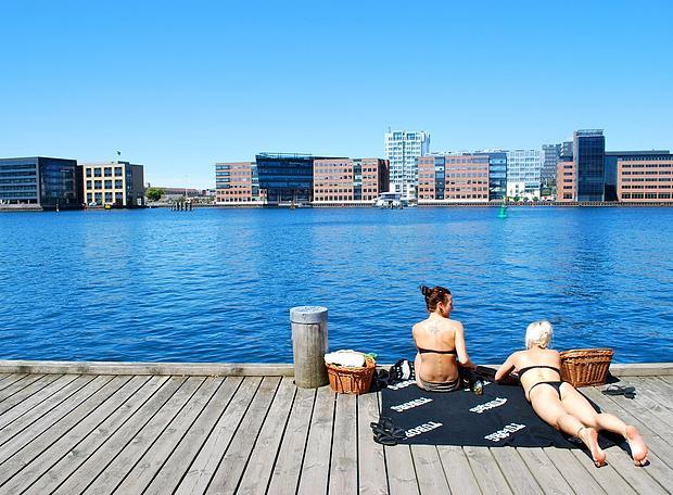 Пляжи Копенгагена