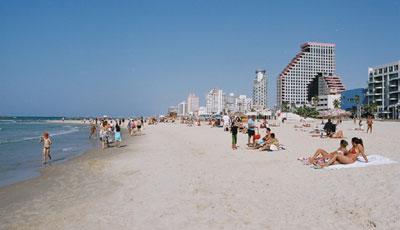 Пляжи Тель-Авив