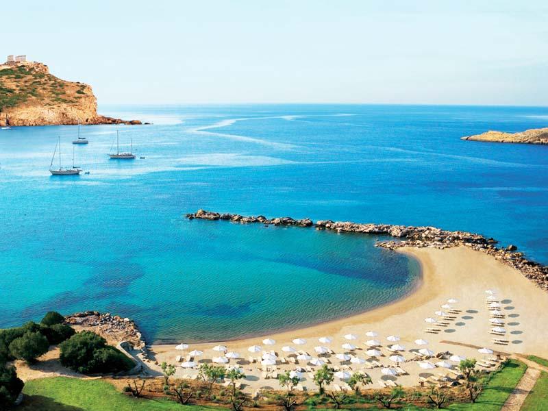 Пляжи Грециии