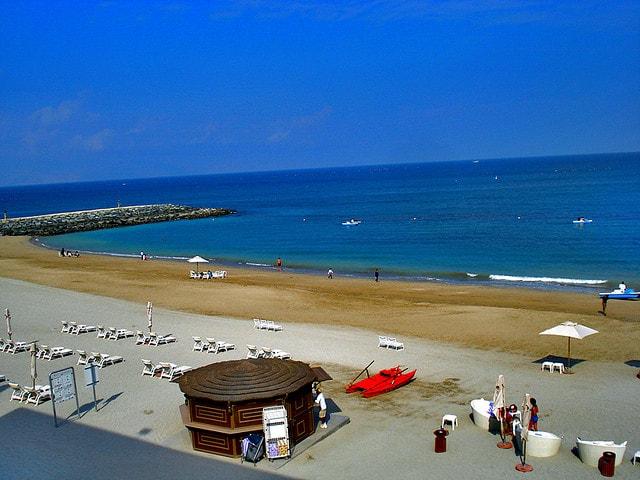 Пляжи Хора