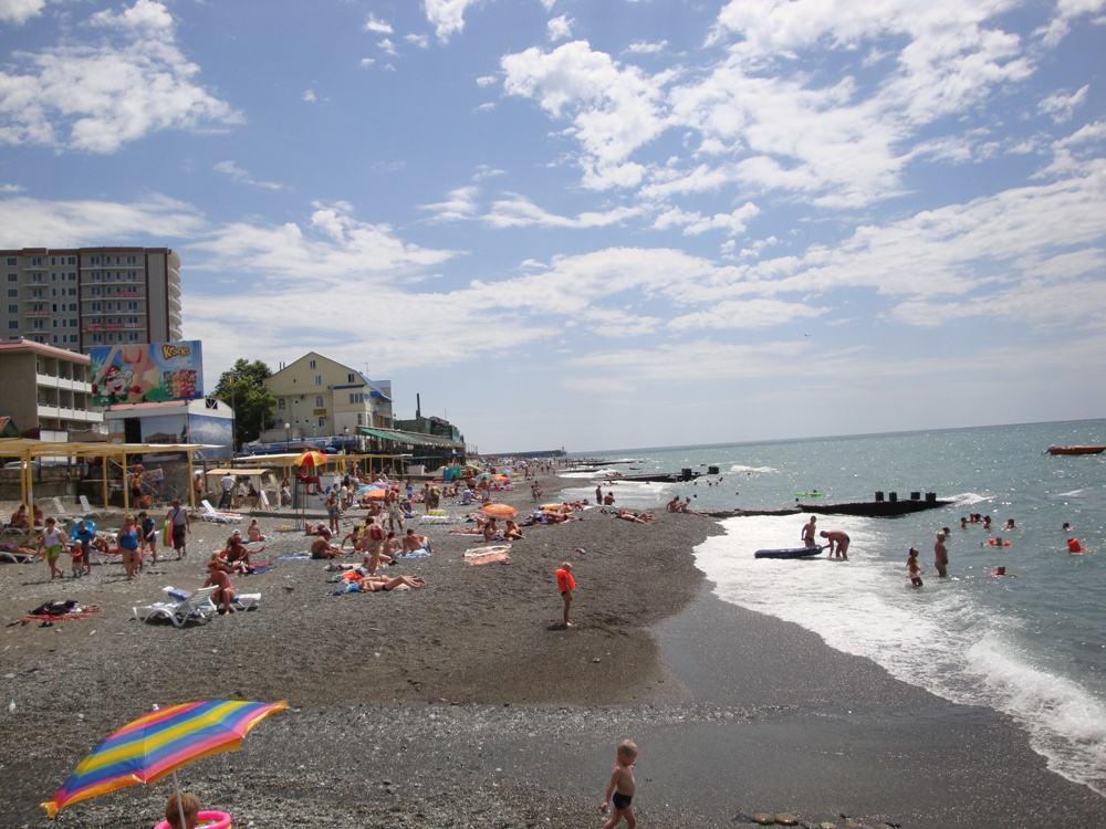 Фото пляжей Адлера