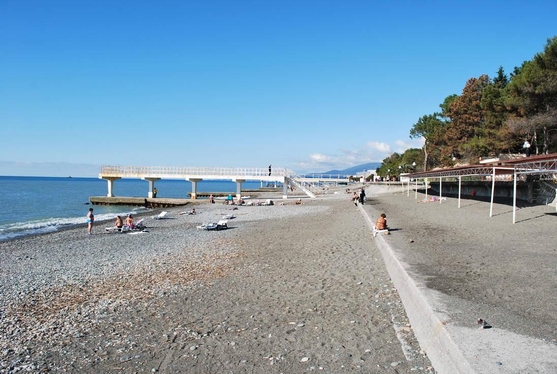 Пансионаты Адлера с собственным пляжем