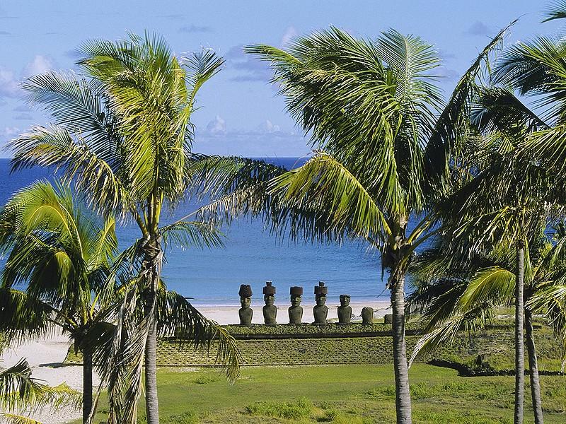 Пляж De Anakena
