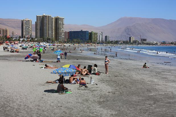 Пляжи Чили