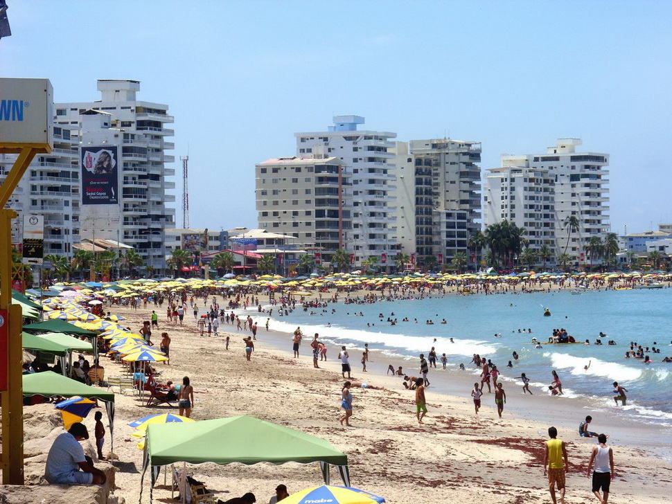 Пляжи Эквадора -отдых
