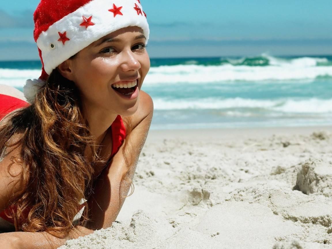 Новый год на пляжах Кубы