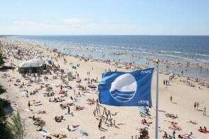 Пляжи Латвии с Голубыми флагами