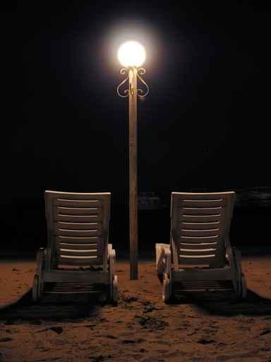 Ночные пляжи мира