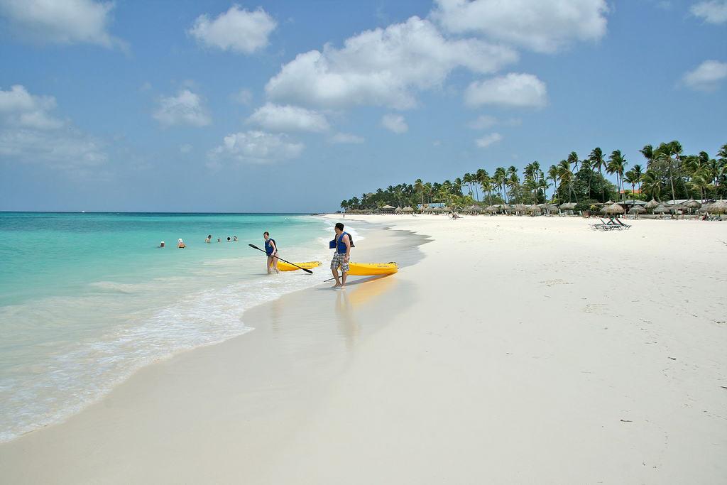 Пляжный отдых в Арубе