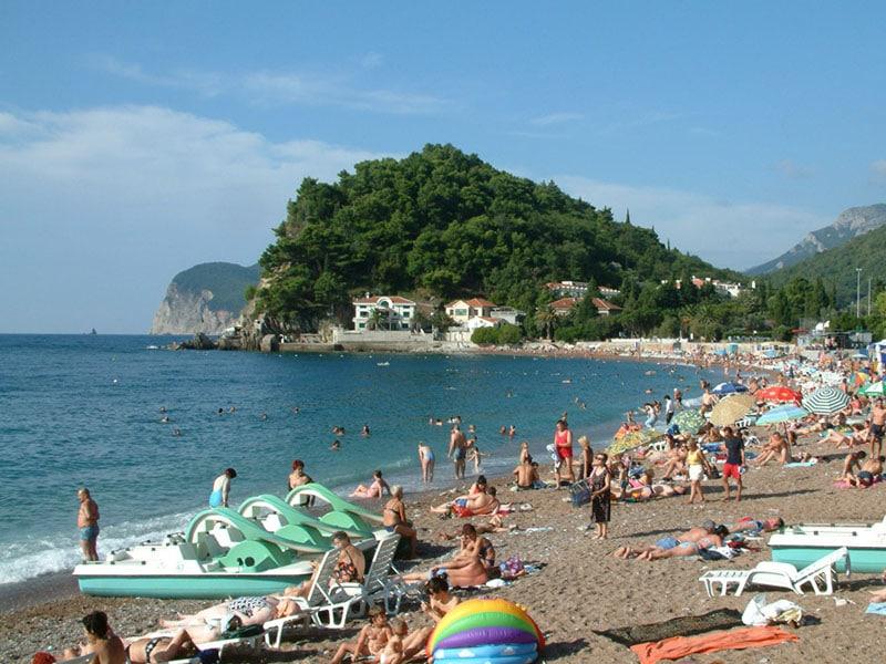 Пляж Петровац