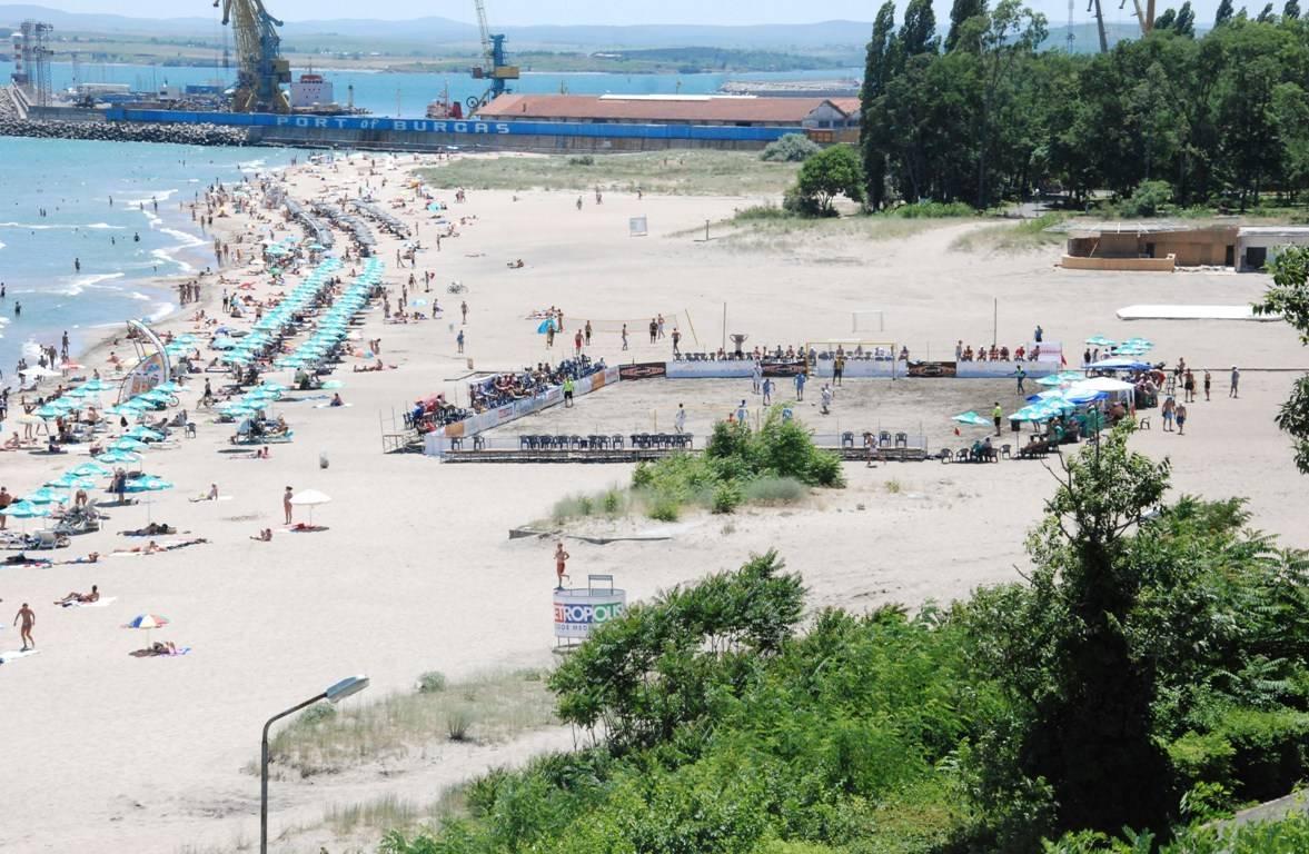 Центральный пляж Бургаса