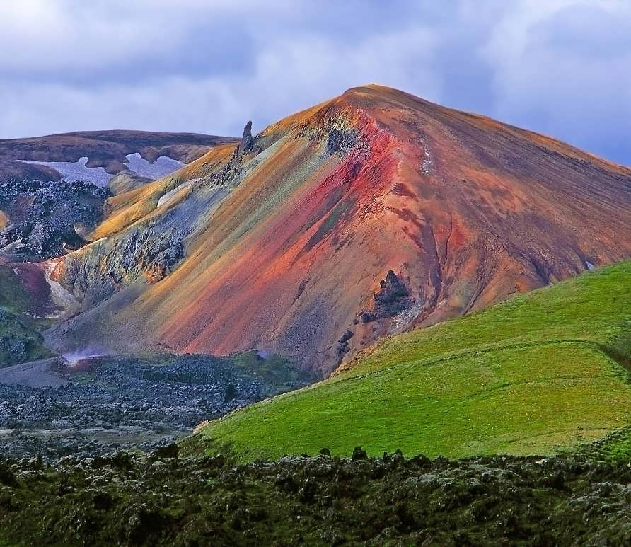 Пестрый мир в Исландии