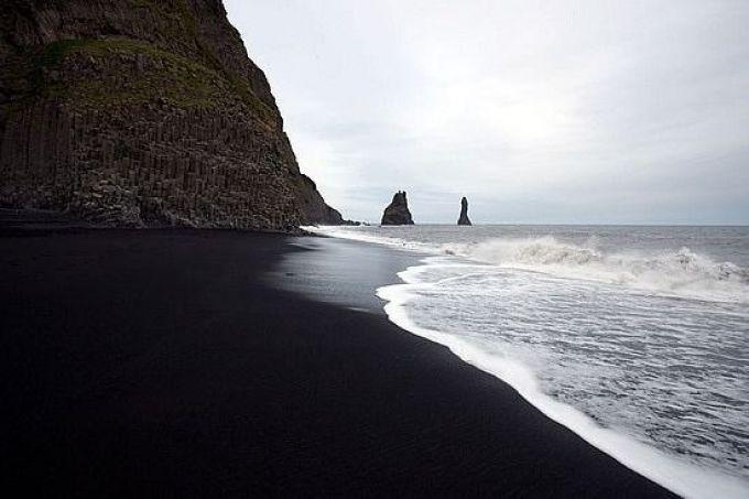 Черный пляж Исландии