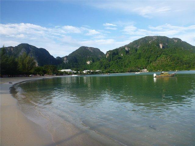 Пляж Лох Далум