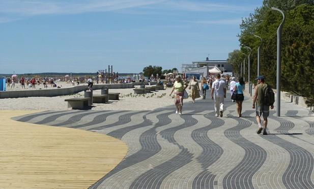 Отдых на пляжах эстонского городка - Пярну