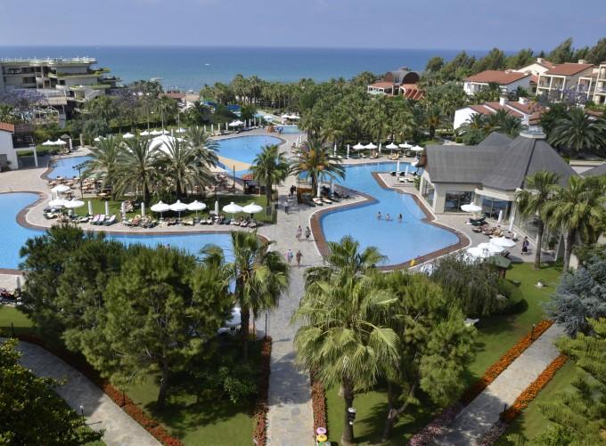Вид на пляж отеля BARUT FETHIYE SENSATORI 5*