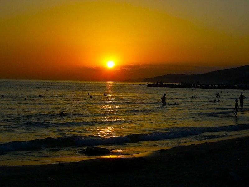 Нудистский пляж в Джубги