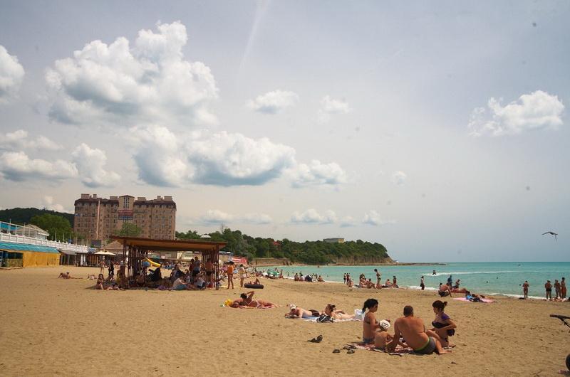 Пляжи в Джубги