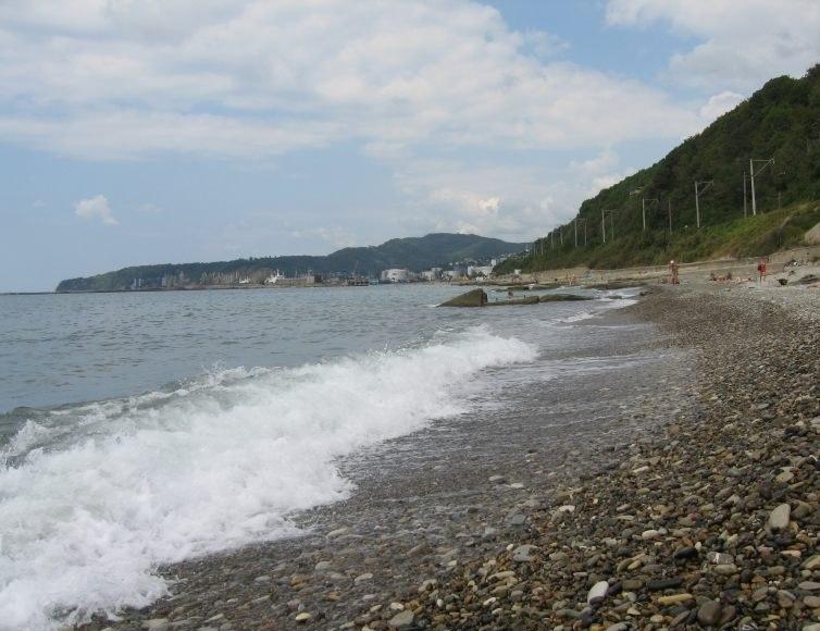Пляжи Черноморского побережья Краснодарского края