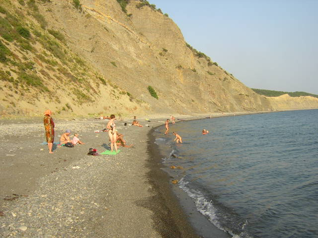 Пляжи Большого Утриша