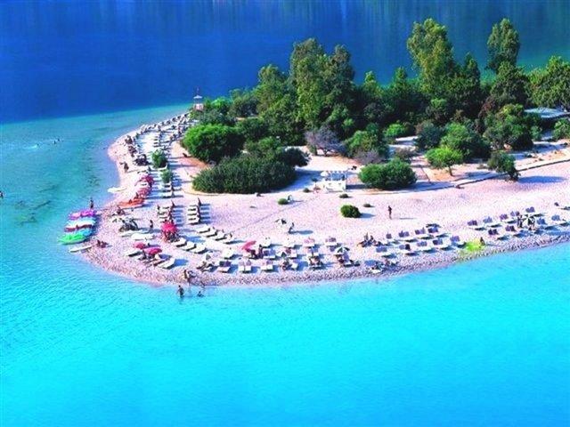 Живописные пляжи Турции