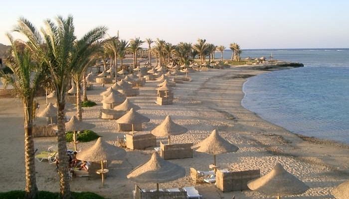 Красивый пляж Египта