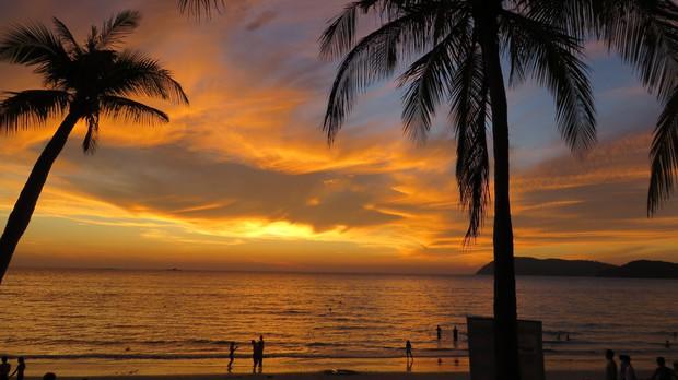 Пляж Сенанг