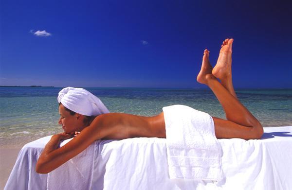 Пляжный массаж