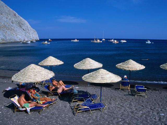 Пляж Санаторини