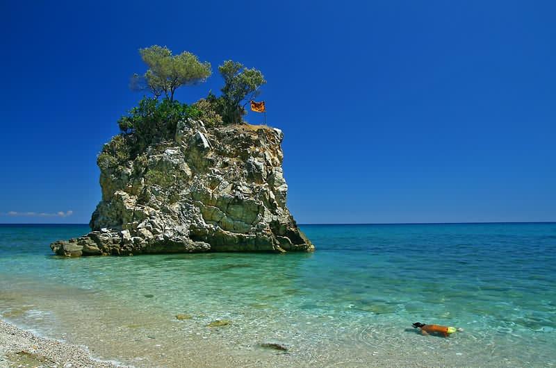 Пляж Камари