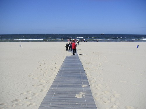Пляжи на Балтике