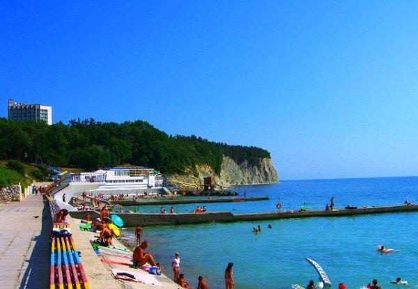 Описание пляжей Дивноморска