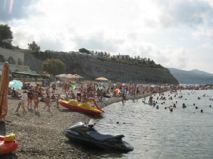 Пляж пансионата «Факел»