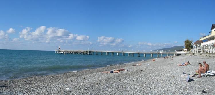 Пляж Лазурный