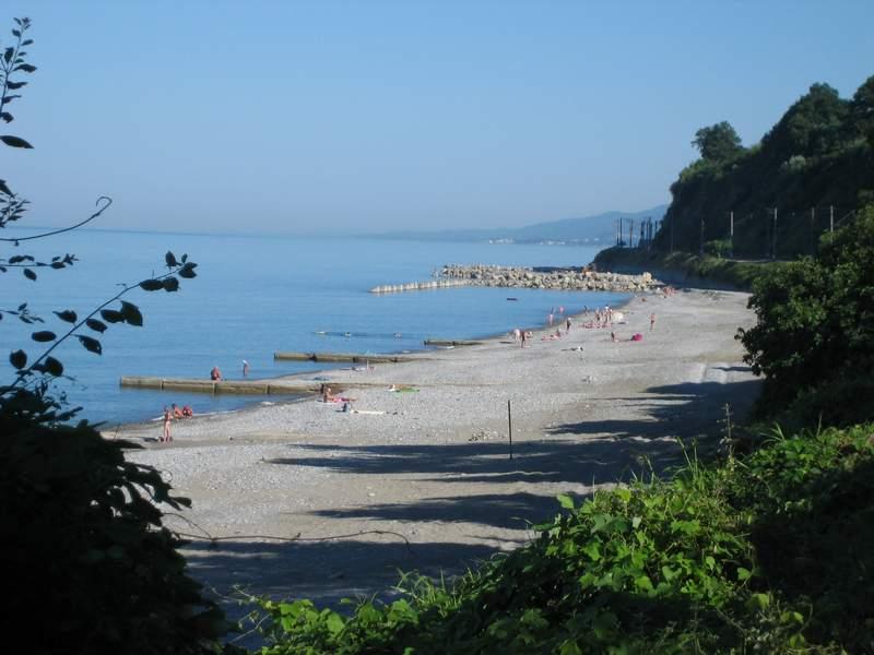 Дикие пляжи Лазорвского