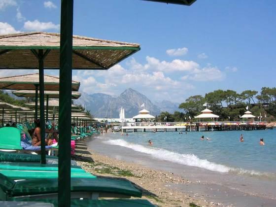Комфортабельные пляжи Кемера