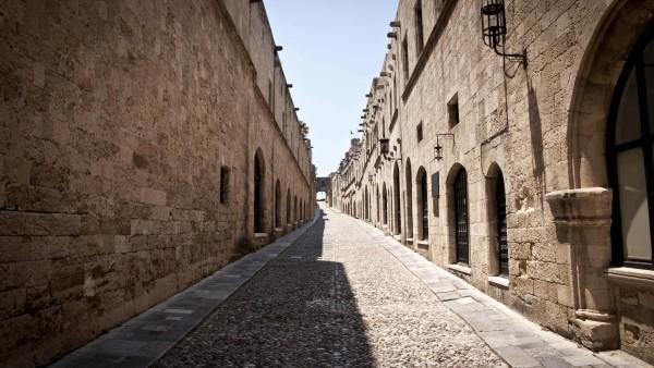 Улица рыцарей -Родос