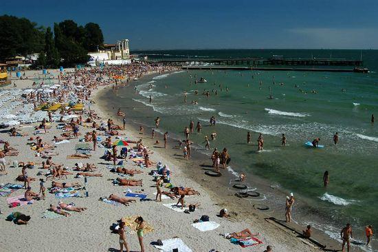 Аркадия пляж в Одессе