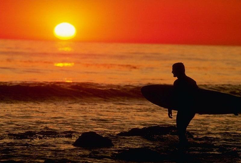 Серфинг в Малибу