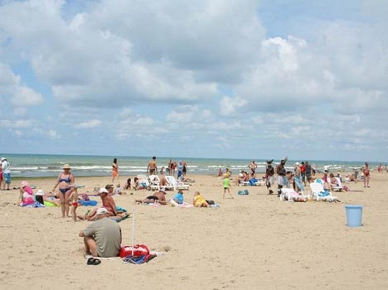 Пляж гостевого дома «Приобье»