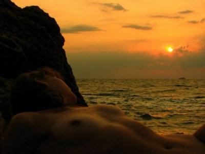 Нудистский пляж Лагуна в  Одессе