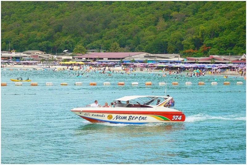 Прогулки на катере пляжа -Samae Beach